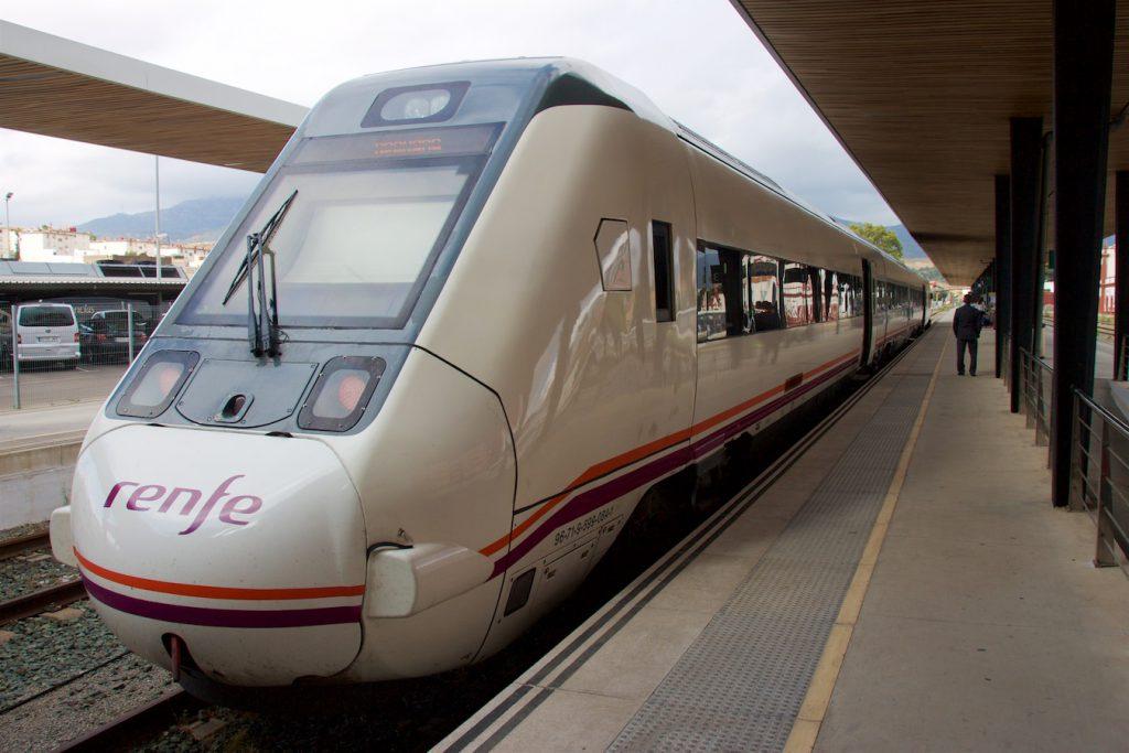Baureihe 599 der RENFE in Algeciras