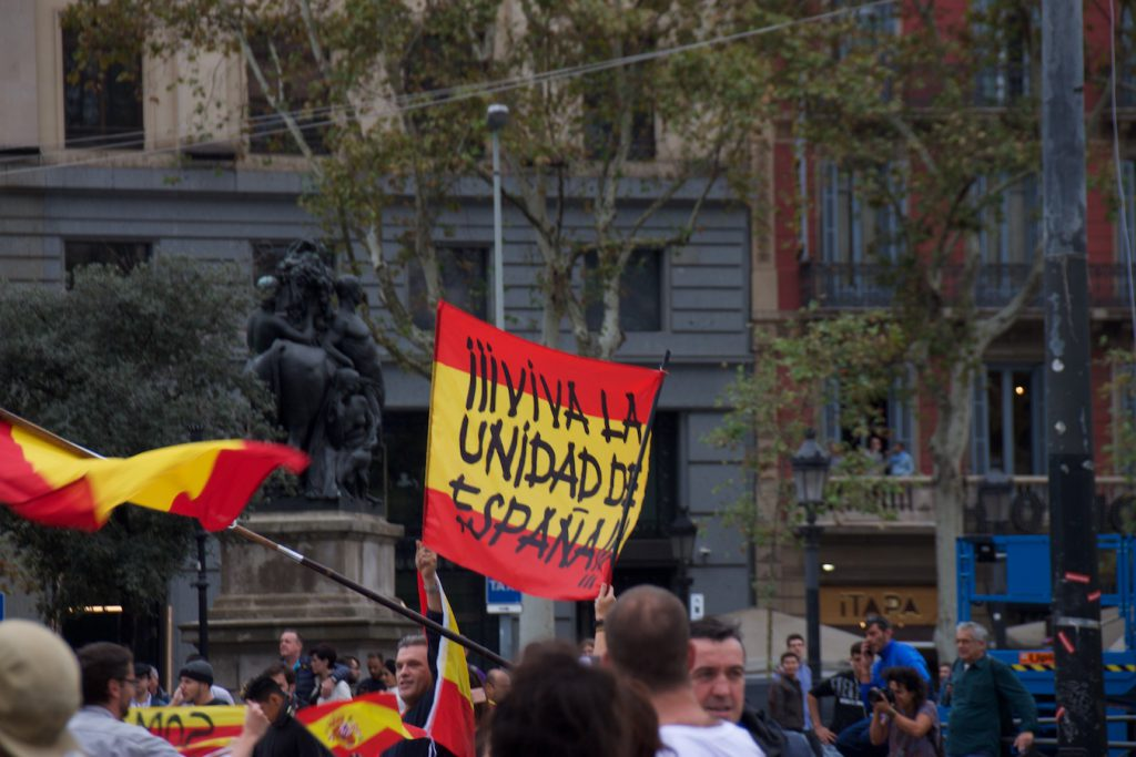 Plaça Catalunya, 1. Oktober