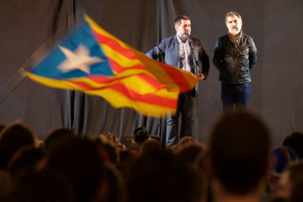 Jordi Sànchez und Jordi Cuixart