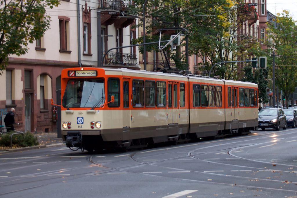 Wagen 148 in der Friedberger Landstraße