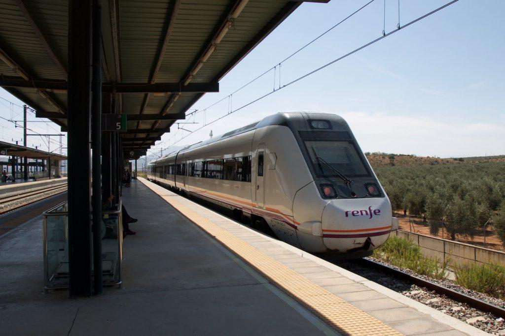 RENFE Baureihe 599 in Antequera Santa Ana