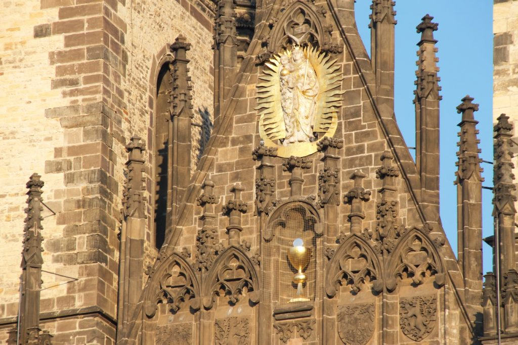 Teynkirche Detailansicht